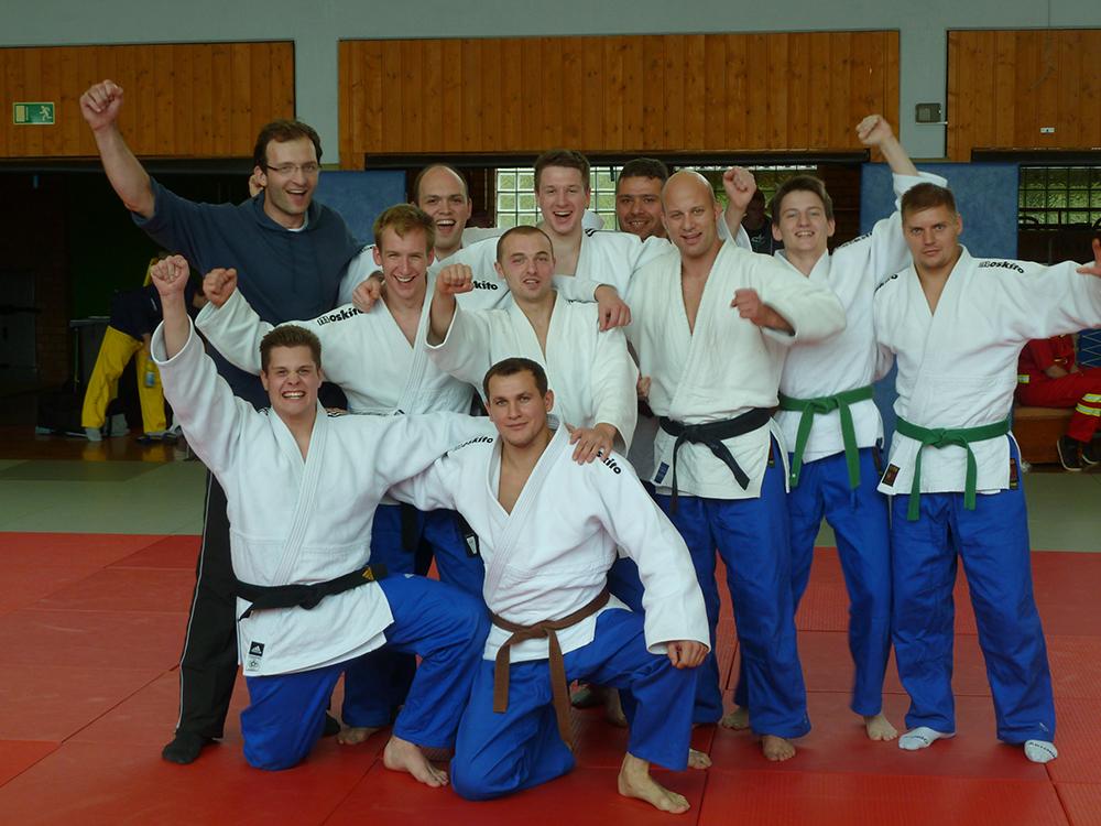 Mannschaftsfoto TuS Lendringsen Judo 2013